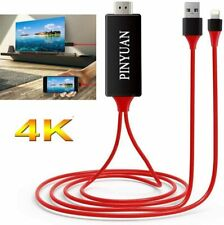 iPhone iPad to HDMI Adapter Cable, 1080P Digital AV HDMI Adaptor Connector Cord