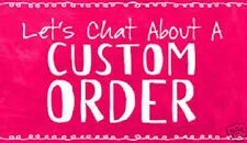CUSTOM LISTING -Great-Rack customer Per our conversation