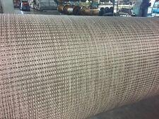 Marine Woven Vinyl Boat Flooring w/ Padding : Raven : 8.5' wide : Pontoon : 02