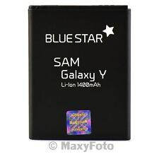 BATTERIA ORIGINALE BLUE STAR 1400mAh LITIO PER SAMSUNG GALAXY Y PRO B5510