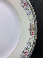 NORITAKE Mayville Vintage Fine China * CHOICE 1 Piece * Pink Roses In Urns Blue