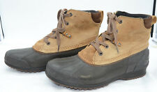 746d44723371a SOREL Mens Sz 11 Waterproof Leather Rubber Laced Work Winter Boots