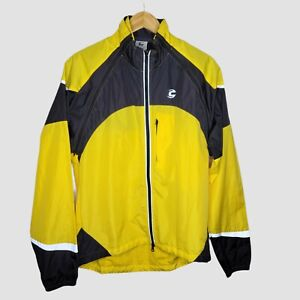 Cannondale Chrono Men's Convertible Cycling Vest Jacket Sz XL Relfective Nylon
