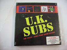 UK SUBS - AD 1979/1981 THE GEM YEARS - 5CD BOXSET NEW SEALED 2014