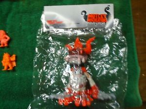 Motley miscreations resin monster figure Rare sold out. Free shipping.