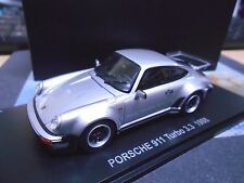 PORSCHE 911 Turbo 3.3 silber silver 1988 G-Modell 930 Coupe Kyosho limited 1:43