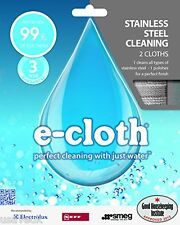 2 x Pack E - CLOTH STAINLESS STEEL CLOTHS just add water no need for chemicals