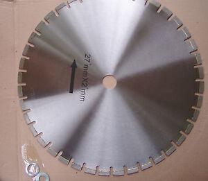 TechDiamondTools Diamond Segmented Saw Blade (27 inch, 2 inch arbor)