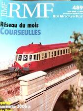 RMF Rail Miniature Flash n°489 2006 - Reseau du mois Courseulles - Tr.20