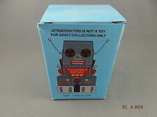 Robot Tractor  -Wind Up Tin Toy