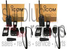 NEW ICOM F3001 VHF RADIOS 5W 16CH HIGH POWER LONG RANGE SECURITY CASINO CLUB