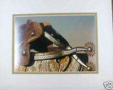 Spurs by David Stoecklein Western Cowboy Double Matted Print Fits 8x10 Frame