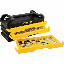 Stanley Mechanics Tool Set 235 pc. Full Polish Chrome w/ 3 Drawer Chest Toolbox