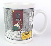 Vintage 1986 The Far Side by Gary Larson Coffee Mug Cup Midvale School VTG 80s