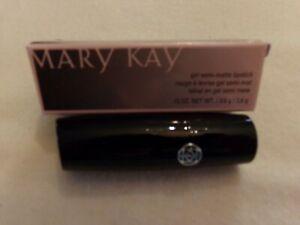 Mary Kay (new) Gel Semi Matte Lipstick   .13 Oz.   Midnight Red