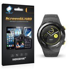 3 x Clair LCD Protecteur d'Écran Film Feuille économiseur Pour Téléphone Portable Montre Huawei 2