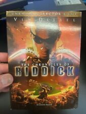 The Chronicles of Riddick Unrated Director's Cut - DVD -  Very Good Condition