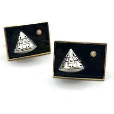 Apollo Spacecraft Command Module Cufflinks Moon Landing Cuff Links Space Race
