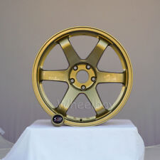 4 ROTA WHEEL GRID  18X9.5  5X114.3 20 73 GOLD  EVO   LAST SET