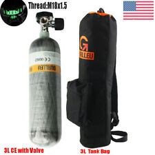 Airgun 3L Ce 30Mpa Carbon Fiber Scba Tank with Valve&Air Bottle Bag Fireman Set