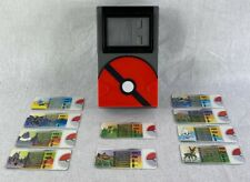 2013 TOMY Pokemon Pokedex Non-Electronic Toy Scanner ( RED ) + 10 cards T&W