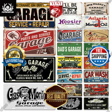 Vintage Tin Metal Sign Plate Wall Decor Garage Bar Retro Pub Signs Poster Home