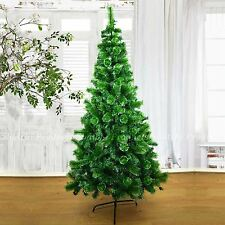 Big 8ft Self Decorated Artificial Christmas Tree Xmas Home Decorations 240cm