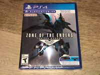 Zone of the Enders The 2nd Runner Mars PlayStation 4 PS4 Brand New Sealed