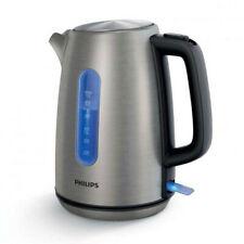 PHILIPS HD 9357/10 Wasserkocher Kocher Edelstahl 1,7 Liter 360° Kabellos 2200 W