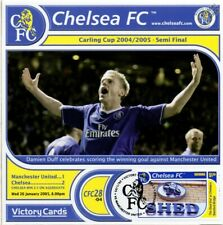 CHELSEA 2004-05 Man United (Damien Duff) Football Stamp Victory Card #428