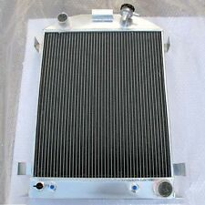 3 ROW Performance Aluminum Radiator for 1932 Ford Hi-boy w/ CHEVY New AT MT