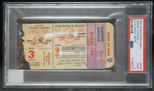 1950 World Series Ticket Game 3 PSA Only 1 Graded Higher Yankees Win Phillies