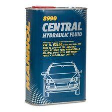 MANNOL 8990 Central Hydraulic Fluid Hydrauliköl / Servoöl, 1 Liter