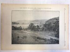 The Vyrnwy Masonry Dam, Liverpool, Waterworks: The Engineer 1889