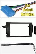 Cadillac Catera/Deville Double Din Stereo Radio Install Car Dash Mount Kit Combo