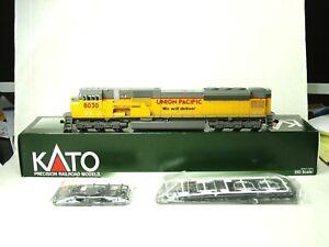KATO HO SCALE EMD SD90/43MAC LOCOMOTIVE (WE WILL DELIVER) UNION PACIFIC 37-6366