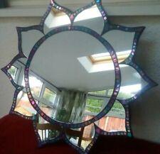 Sun Burst Shape Mirror Modern Elegant Bathroom Bedroom Sunburst
