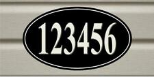 Personalized Your House Address Sign Plaque Aluminum  Any Number Or Text H001