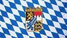 Bayern & Wappen Flagge Fahne 1,50x2,50 XXL Oktoberfest mit Ösen
