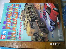 1µ?a Revue Tamiya Model Magazine n°52 He 162 FAMO & Sd.Ah 116 Bell P-400