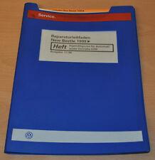 VW New Beetle 1999 Eigendiagnose Automatik Getriebe Werkstatthandbuch Leitfaden