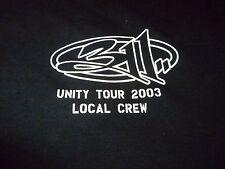 311 Rare Vintage Crew Tour Shirt ( Size XL ) NEW DEADSTOCK!!!