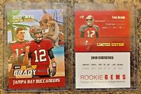 2020 Tom Brady Limited Edition Tampa Bay Buccaneers Card. Super Bowl 55 MVP?