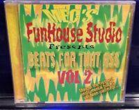 Mike E Clark - Beats for that Ass vol. 2 CD MEC instrumentals insane clown posse