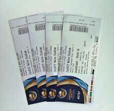 CRICKET MEMORABILIA - Tickets Stub(s) England v New Zealand 06/06/17 Cardiff