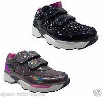 Scarpe Bambina. Scarpe sportive, sneakers a strappo. GIARDINO D' ORO - S5527.
