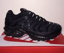 Nike Air Max TN Plus Trainers Black Size 8