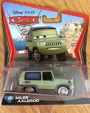 Disney Pixar Cars 2 MILES AXLEROD Axelrod #17 Deluxe Diecast Xmas Gift Present
