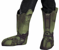 Morris Costumes Halo Master Chief Polyester Boot Covers One Size. DG89999CH