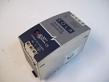 SOLA SDN 4-24-100 POWER SUPPLY 2.0/1.1A 115/230VAC 50/60 - USED - FREE SHIPPING
